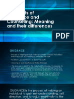 Concepts of Guidance and Counseling 2