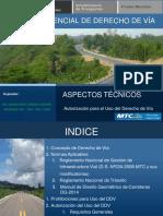 Exposicion Consideraciones Tecnicas Aspectos Técnicos CONEIC 2017
