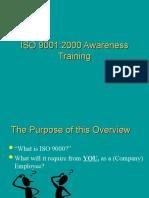 Iso 90012000 Awareness Training