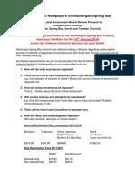 Councillor Questionnaire Re Amalgamation Jan 2018