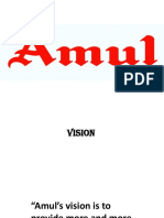 Amul Mission and Vision