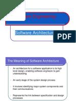 Software Design Architecture