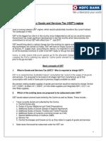 GST FAQ Service Providers