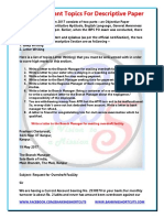 e Book Descriptive Paper Letter Writing for IBPS PO Mains