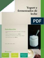 Yogurt y Fermentados de Leche 1