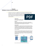 Ab Electric Drive Modeling Through Multi System Approach