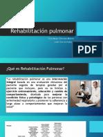 Rehabilitación pulmonar