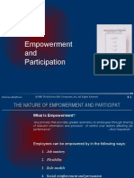 Empowerment and Participation[1]