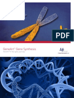 Gene Synthesis Brochure Including NPIs