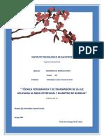 Metodo fotografico-Biorreactores
