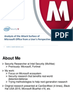 Analysis of the Attack Surface of Microsoft Office From User Perspective Final