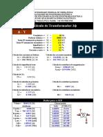 Cálculo de Parametros Para ATPDraw
