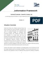 agile transformation framework
