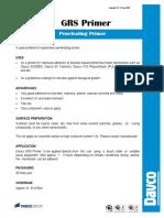 Davco GRS Primer Datasheet