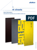 Doka Formwork Sheets