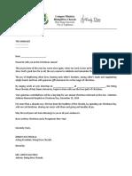Resorts Letter