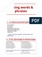 Linking Words & Phrases