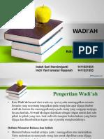 wadi'ah