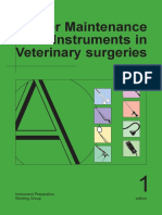 maintenance of vet med instruments