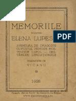 [1928] Elena Lupescu - Memoriile Doamnei Elena Lupescu