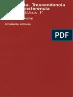 La cubeta. Trascendencia de la transferencia [Jean Laplanche].pdf