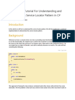 Understanding and Implementing Service Locator Pattern in C#