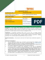 BDM Assignment Brief - Sept 2016