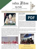 Nostra Fides Vol 1 2008