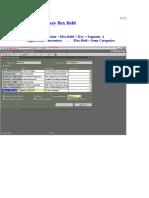 Flexfield Structre & Value Set