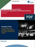 APN31 - D7 - Serverless Platforms and PaaS Distilling the Appl - 336833