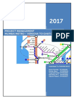 Project Management - MUMBAI METRO