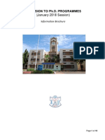 MS PhD Information Brochure Jan 2018