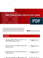 Cash Upfront User Guide