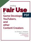 Understanding Fair Use Strebecklaw Dot Com