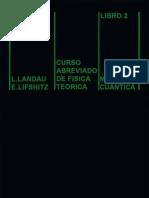 Landau - Fisica Teorica - Mecanica Cuantica 1de2