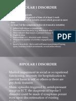 Diagnosis of Bipolar Disorder