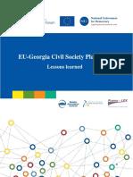 Georgia_EaP Re-granting Project Report