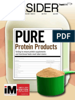Protein Spiking Pulse