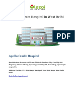 Top 10 Private Hospital in West Delhi - Lazoi