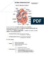 Fisiología Bloque 4. Cardiovascular (T. 10 - 14)