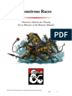 DMS Guild 5e Monstrous Races