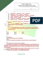 2.2 - Ficha de Trabalho - Deriva Dos Continentes e Tectónica de Placas (1) - Soluções