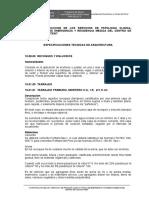 Especificaciones Tecnicas Arquitectura Kiteni