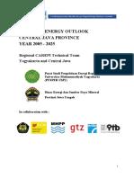 Central Java Energy Demand