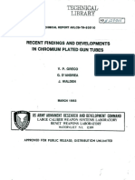 Ada129905 Recent Findings and Developments in Chromium Plated Gun Tubes