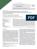 Food Chemistry Volume 134 issue 1 2012 [doi 10.1016%2Fj.foodchem.2012.02.121] Tim Plozza; V. Craige Trenerry; Domenico Caridi -- The simultaneous determination of vitamins A, E and β-carotene in bovine milk by high perform.pdf