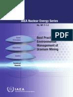 INF_Best Practice in Environmental Management of Uranium Mining-IAEA