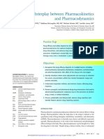 The Interplay Between Pharmacokinetics and Pharmacodynamics