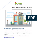 Top 10 Private Hospital in North Delhi - Lazoi The Life