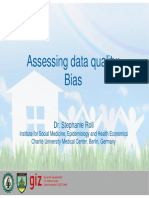 Assessing Data Quality - Bias [SR]